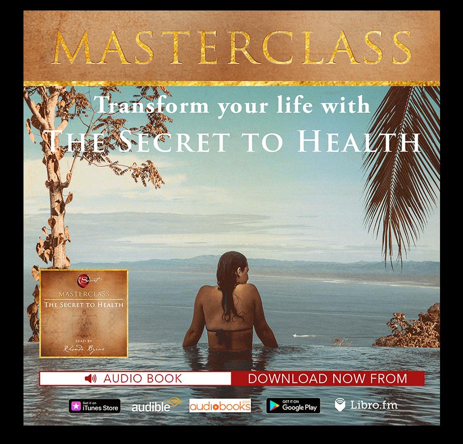 Masterclass Audiobook: The Secret to Health